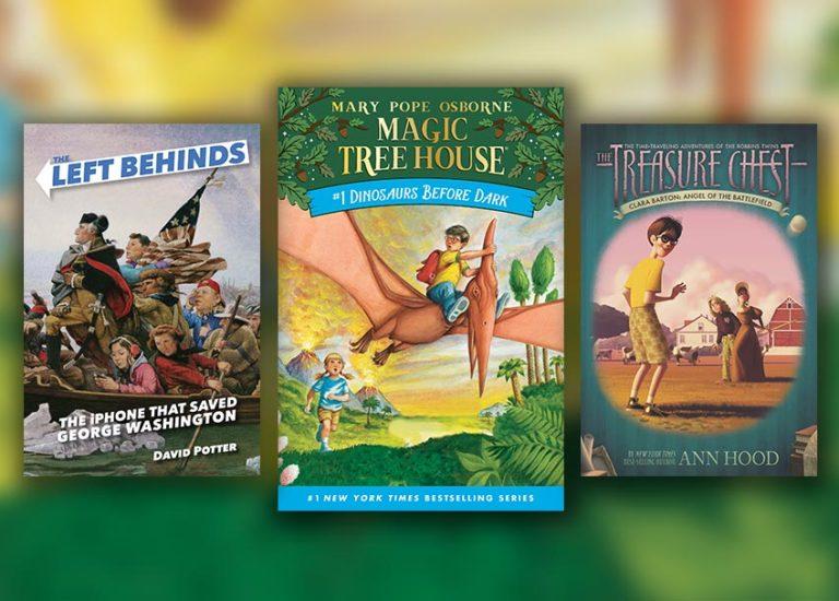 6 Time-Traveling Chapter Books for Kids Who Love <i>Magic Tree House</i> Thumbnail