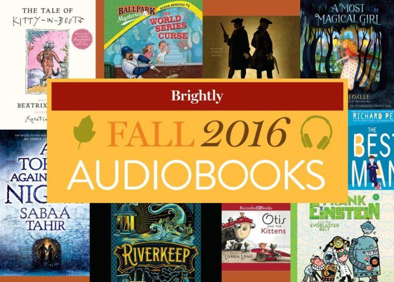 Fall 2016 Audiobooks for Kids