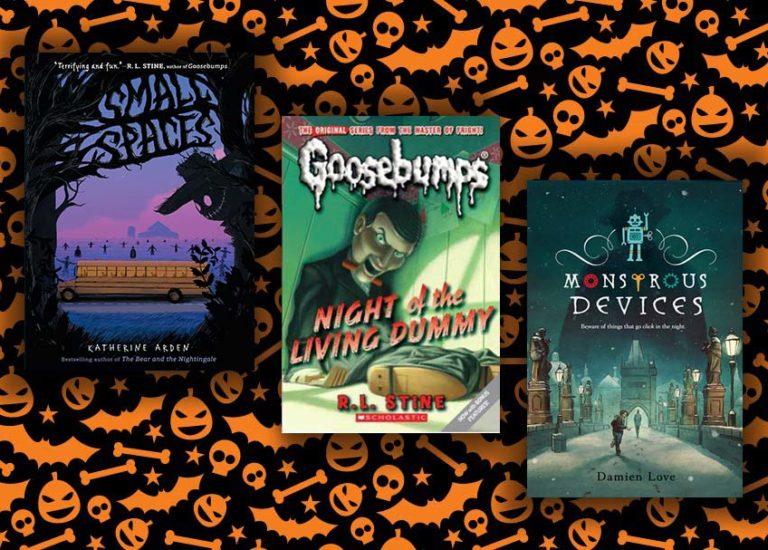 semi-spooky-books-for-middlle-grade