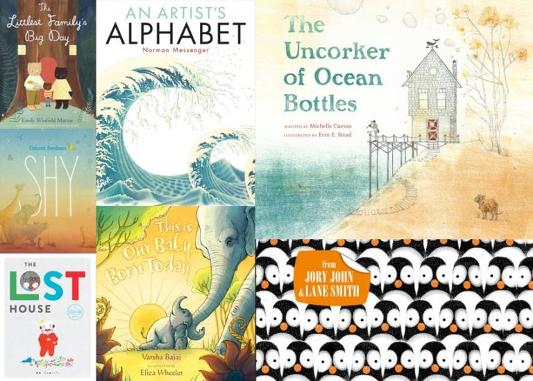 12 Stunningly Beautiful New <br>Picture Books Thumbnail