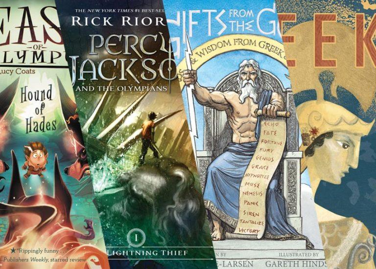Great Greek Mythology Books For Kids Brightly