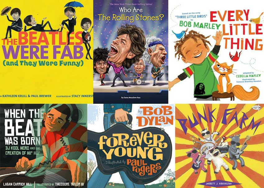 Picture Books for Rock and Roll Parents and Their Kids
