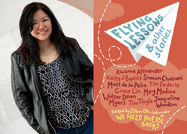 On Diversity in Kids' Lit: <br>A Chat with Ellen Oh About <br><i>Flying Lessons &#038; Other Stories</i> Thumbnail