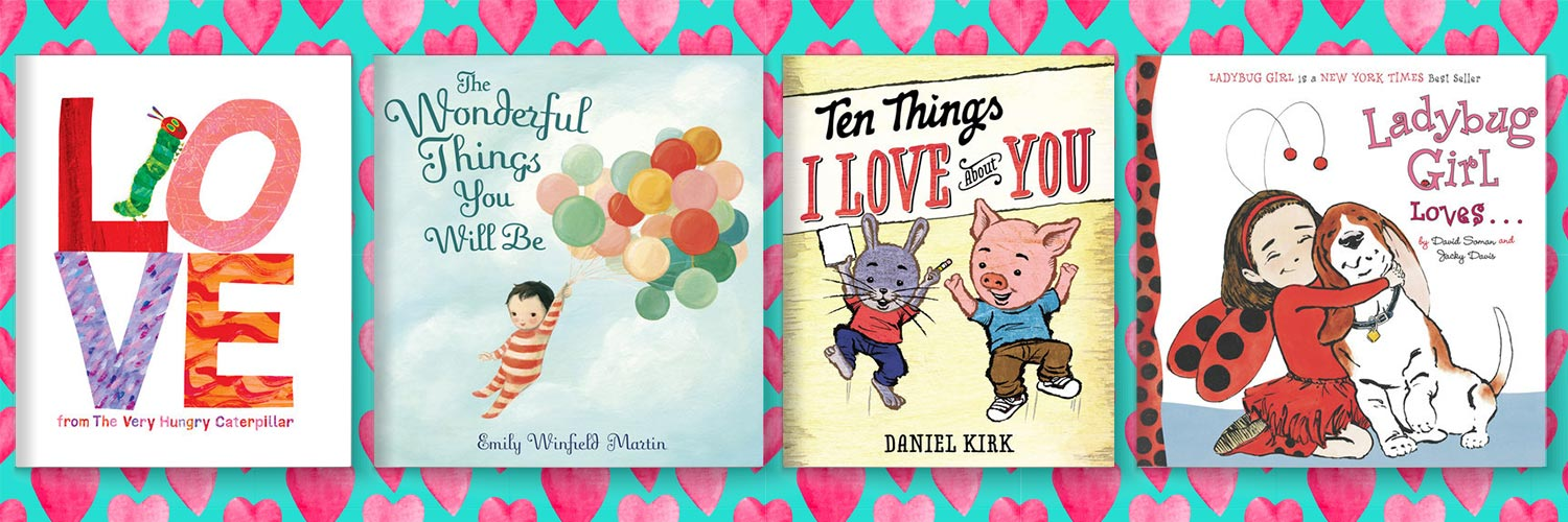 Valentine's Day Book Gifts for Little Readers