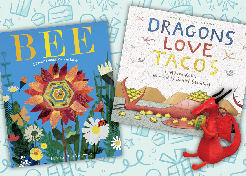 The Best Bookish Birthday Gifts For 3 And 4 Year Olds