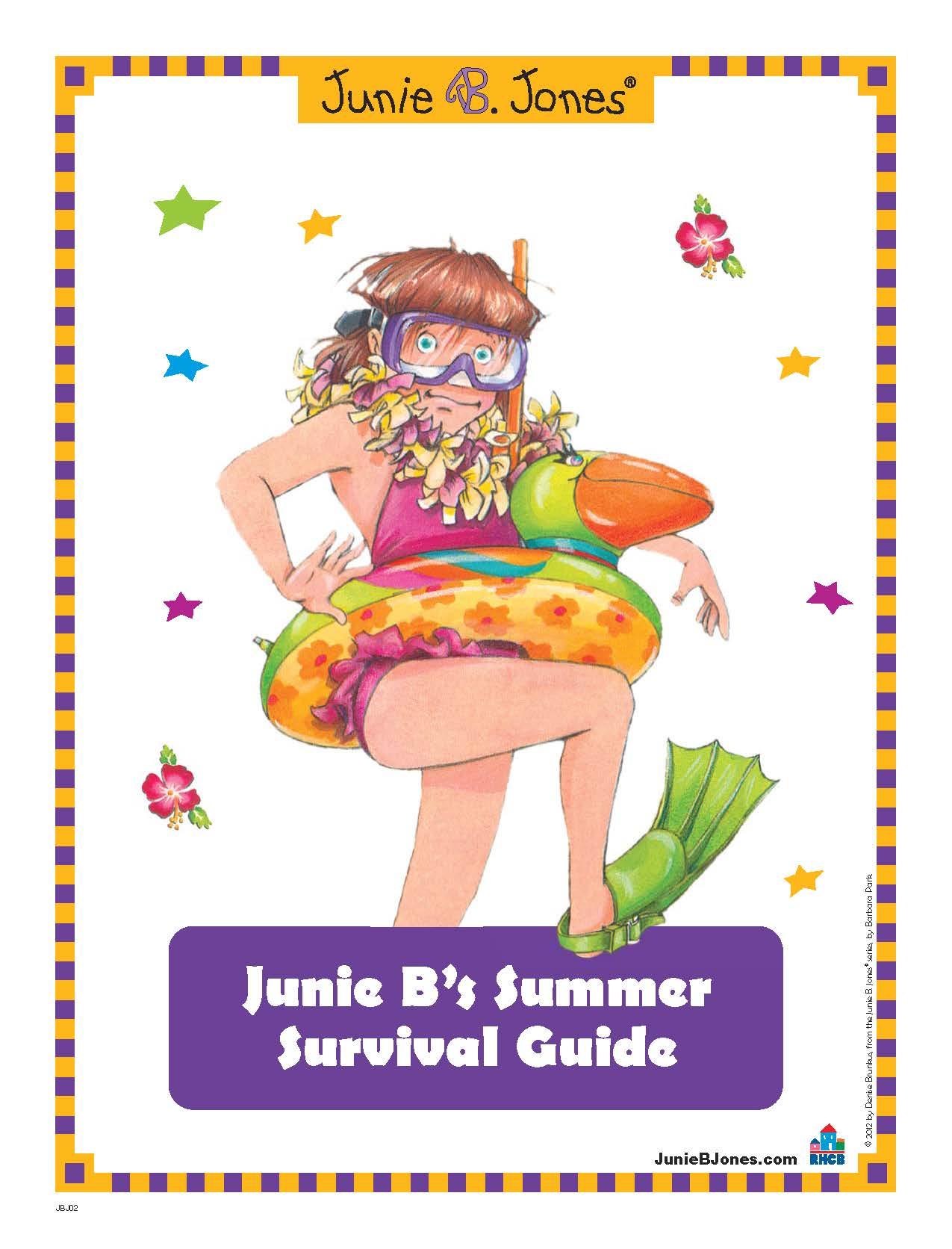 Junie B.'s Summer Survival Guide Activity Kit