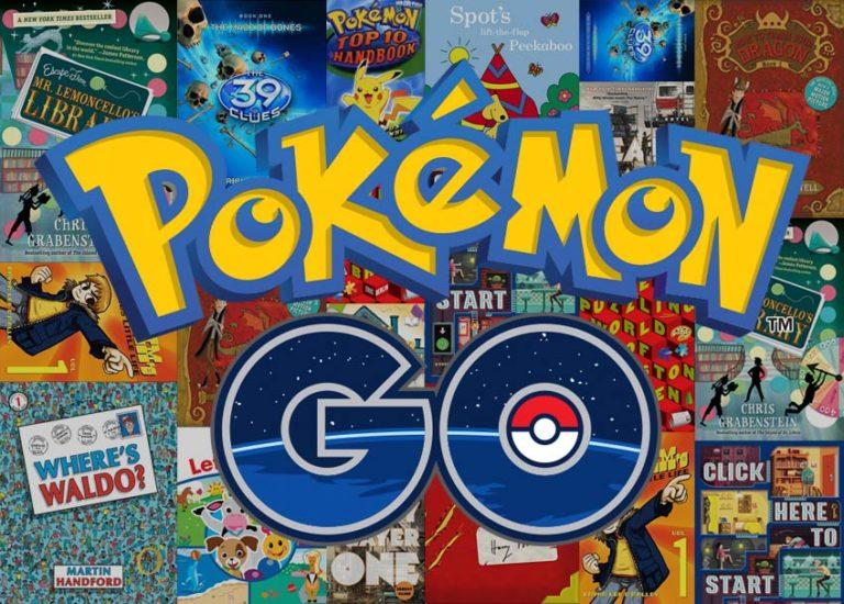 Books for Kids Who Like Pokémon Go