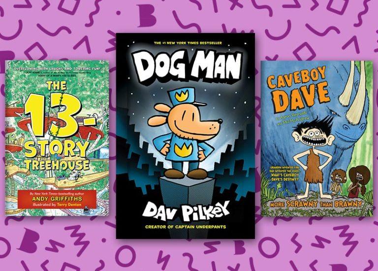 books-like-dog-man