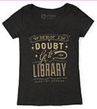 library-tshirt