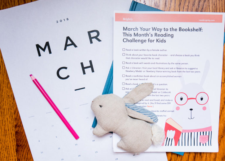 March Your Way to the Bookshelf: This Month's Reading Challenge for Kids Thumbnail
