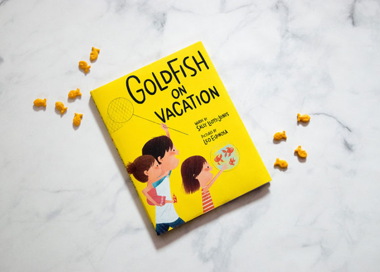 <i>Goldfish on Vacation</i> Leads Children on an Unexpected Journey Connecting Generations Thumbnail