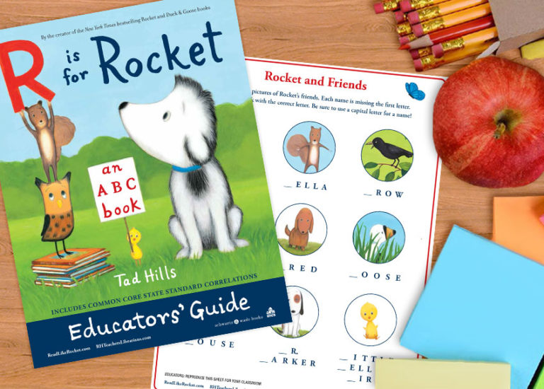 A Printable Educator's Guide to<br> <i>R Is for Rocket: An ABC Book</i> Thumbnail