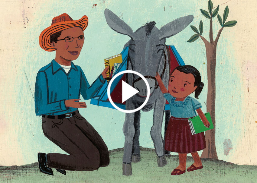 Brightly Storytime:  Waiting for the Biblioburro