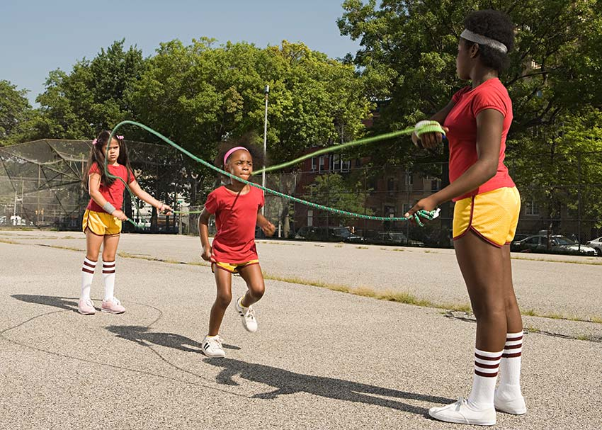 How to jump double dutch (with pictures) wikihow.