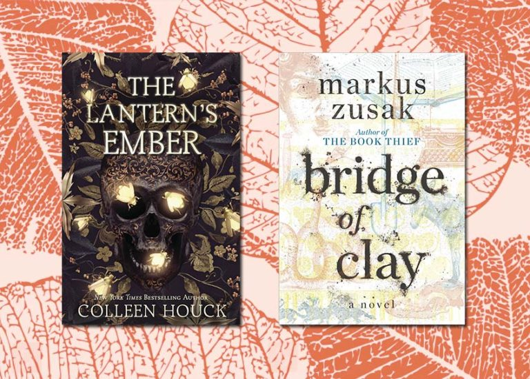 Book covers: The Lantern's Ember; Bridge of Clay