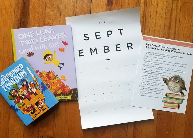 New School Year, New Reads! <br>A September Reading Challenge <br>for Kids Thumbnail