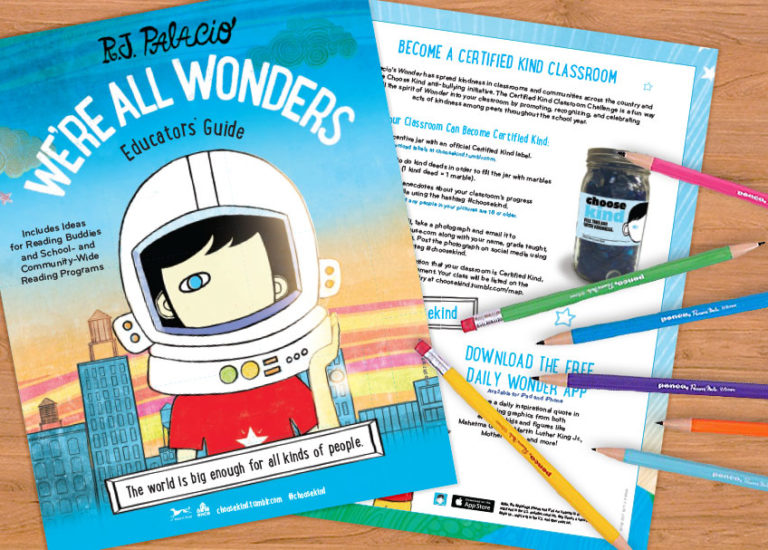 Discussion Questions and Classroom Activities for We're All Wonders