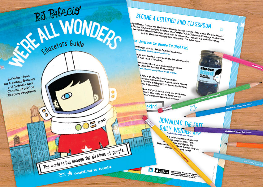A Printable Educator's Guide to  We're All Wonders