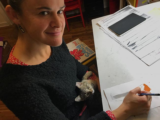 Meet the Illustrator: Corinna Luyken