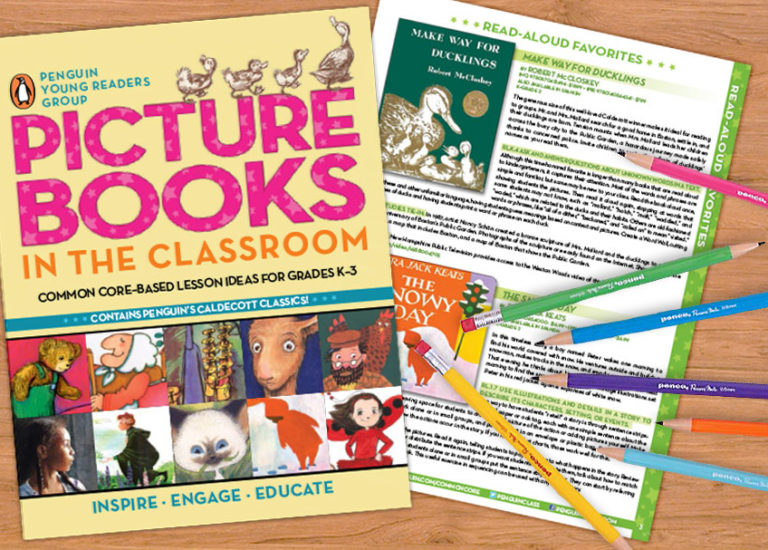 A Printable Educator's Guide to Using Picture Books in the Classroom Thumbnail
