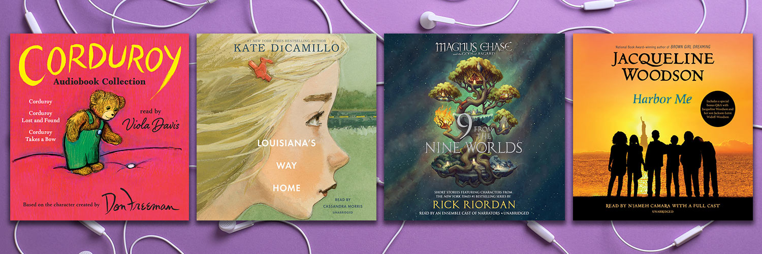 Kids' Audiobooks Perfect for Listening and Gifting This Holiday Season Thumbnail