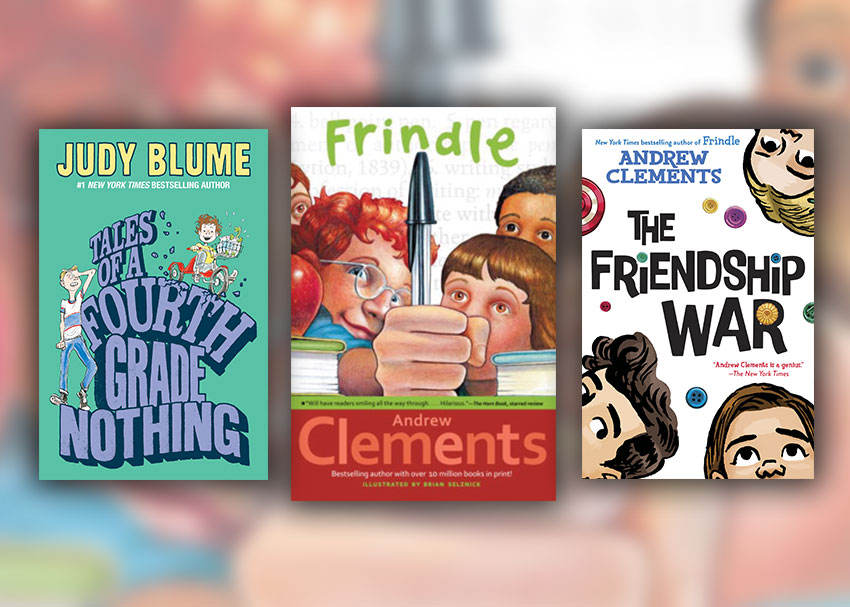 5 Middle Grade Books for  Fans of Frindle
