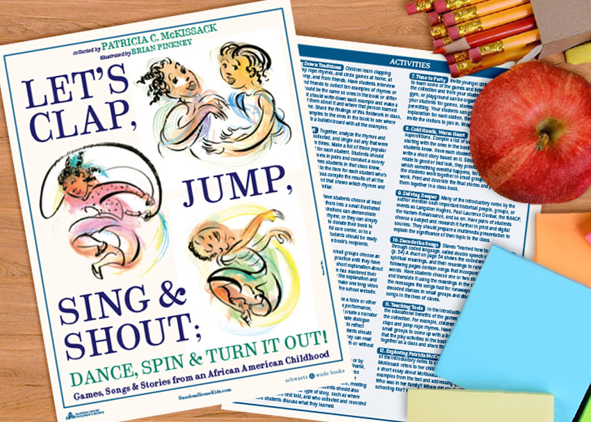 A Printable Educator's Guide to  Let's Clap, Jump, Sing & Shout