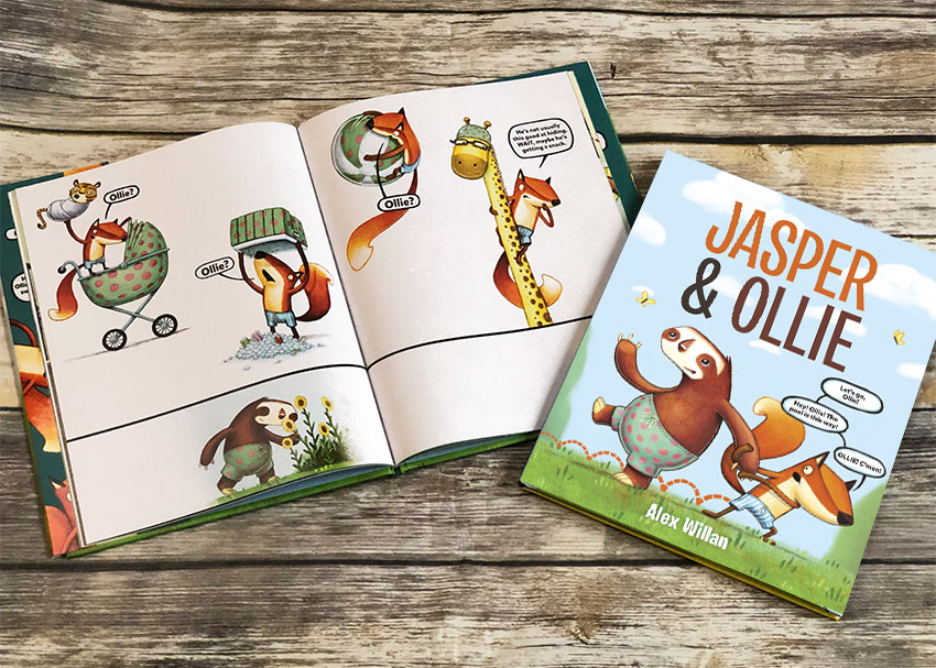 Are You a Jasper or an Ollie?  Author Alex Willan on Helping Kids Be Self-Aware