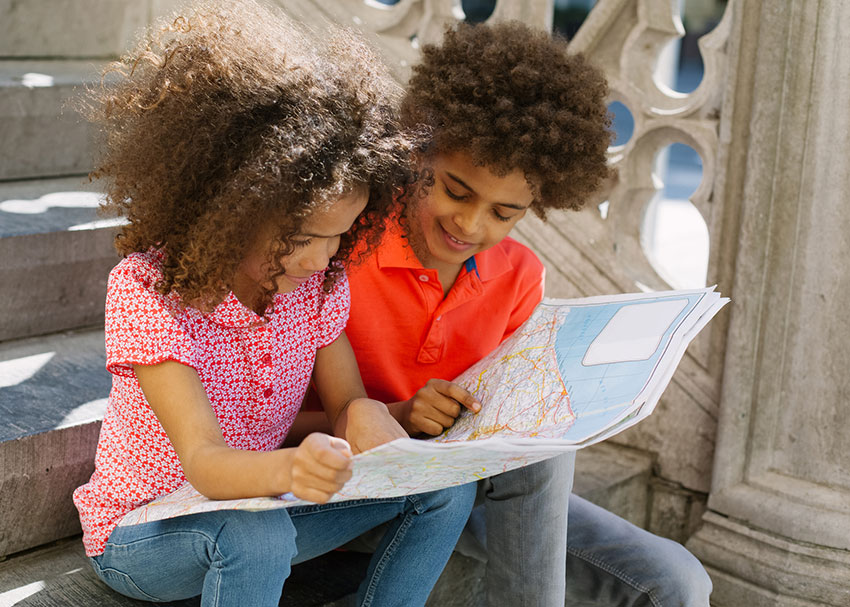 Books for Kids Fascinated by Maps