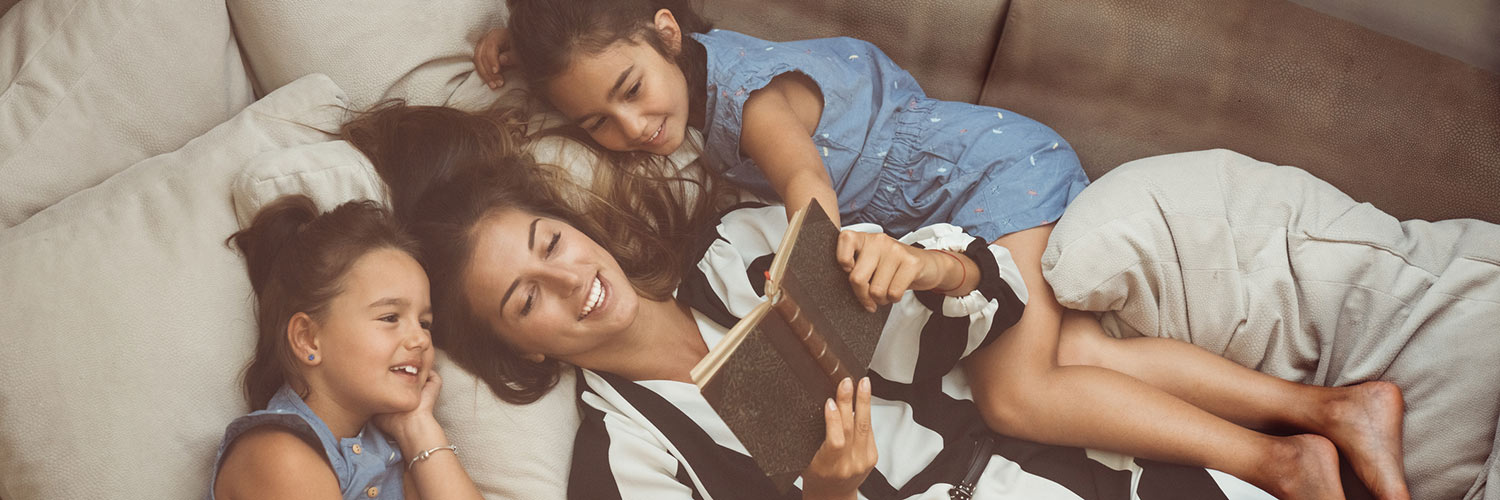 Why Reading Childhood Favorites to Your Kids Is Honestly the Best Thumbnail