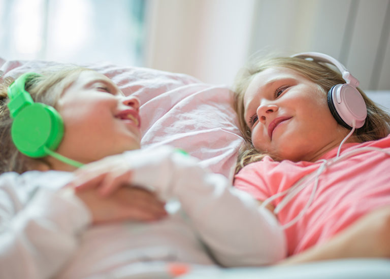 audiobooks at bedtime