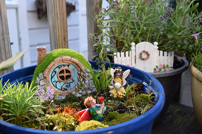 little green girl garden
