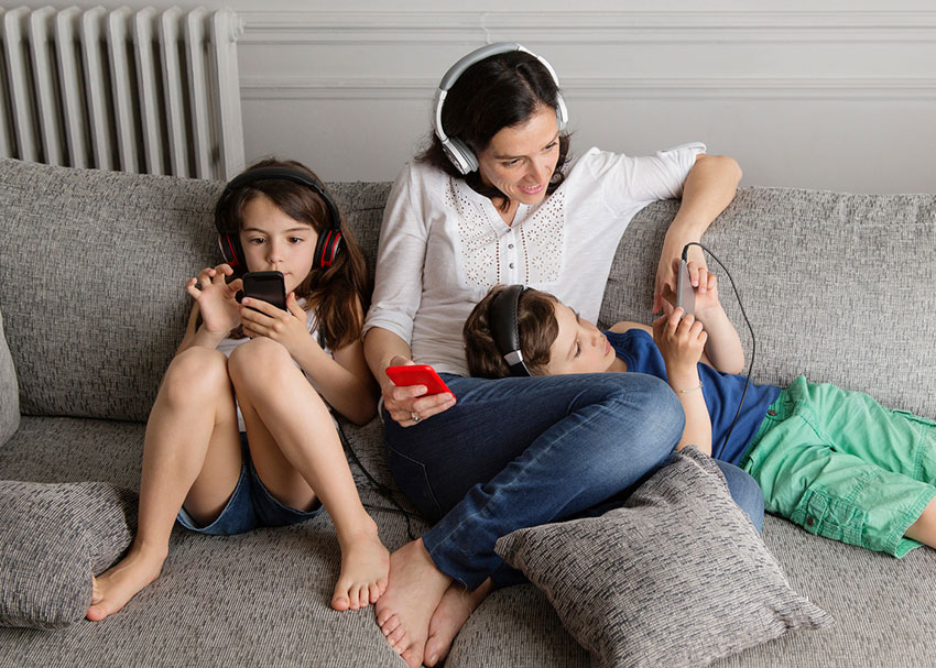 Listen Up! Podcasts  for the Whole Family