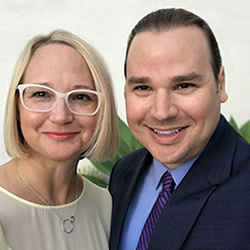 Jennifer L. Holm and Matthew Holm