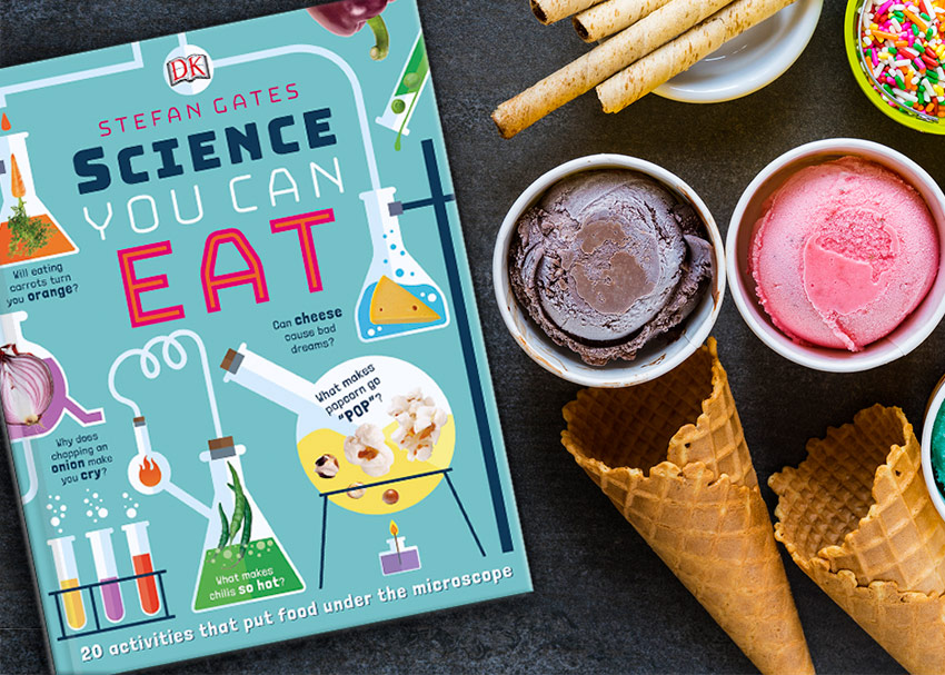 Science You Can Eat:  How to Make Instant Ice Cream