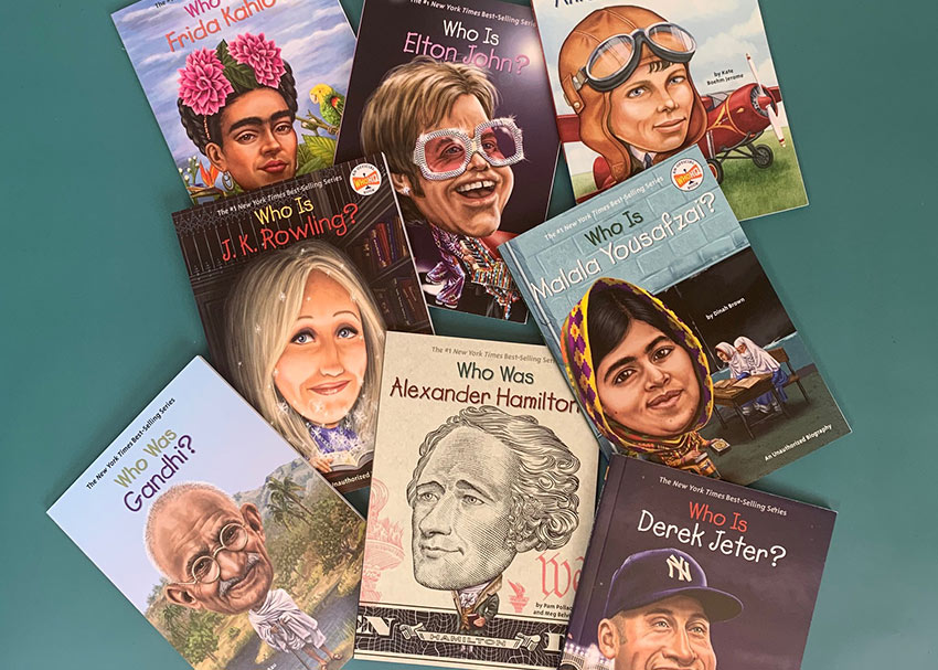 Enter to Win a Collection of  Who Was? Books
