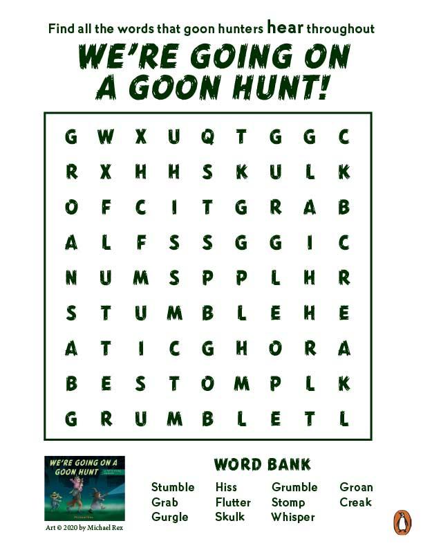We're-Going-on-a-Goon-Hunt-activities