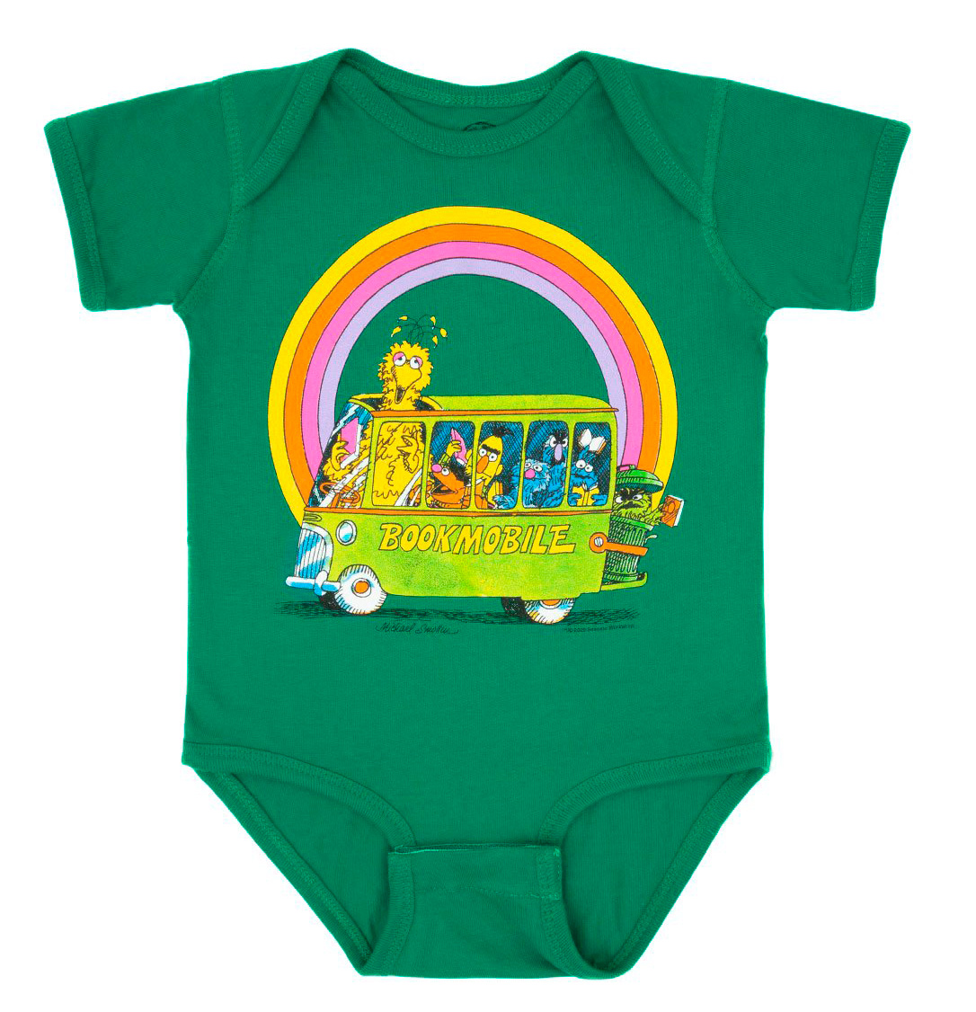 Baby Sesame Street Bookmobile Bodysuit