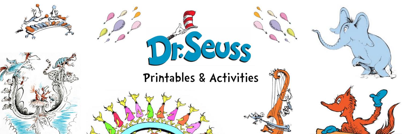 Dr. Seuss Printables and Activities Thumbnail
