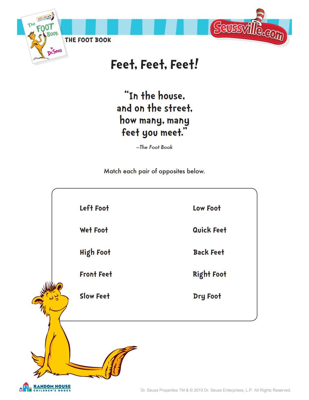Feet, Feet, Feet!