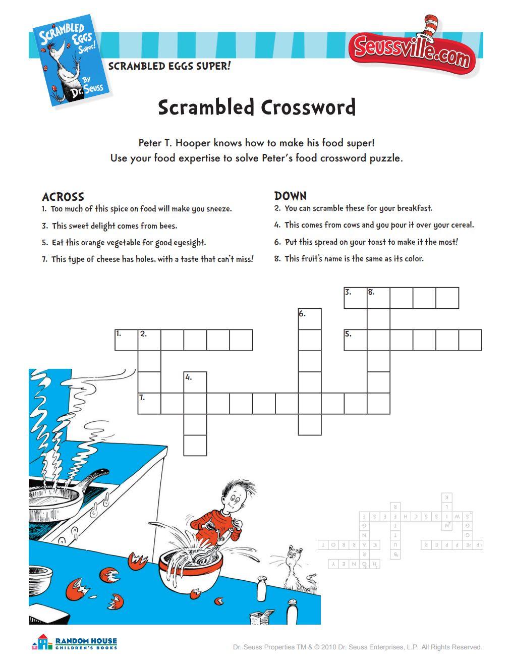 Scrambled Crossword