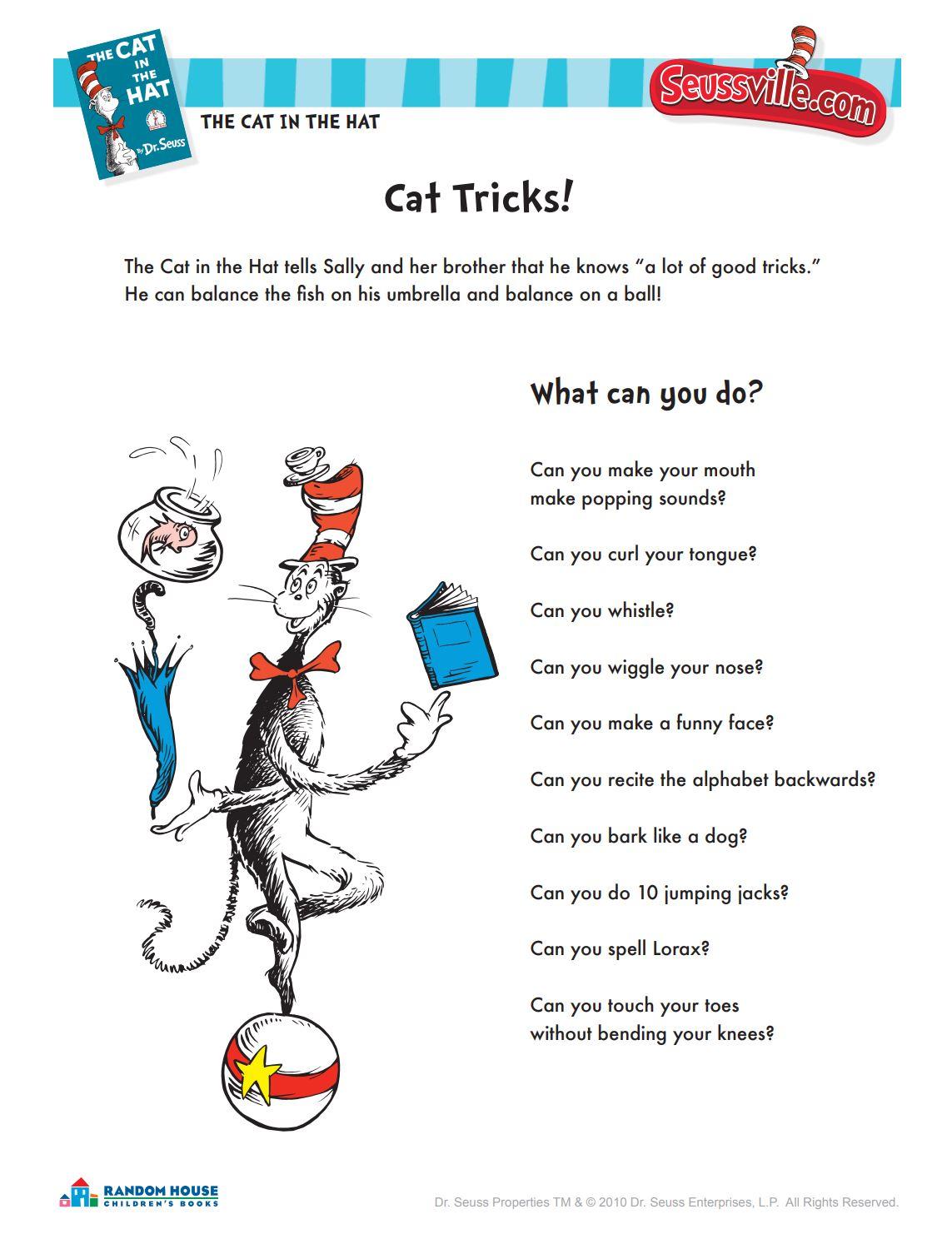Cat Tricks!