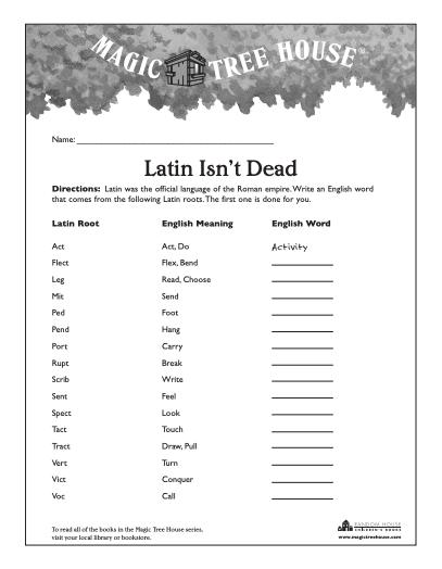 latin isn't dead