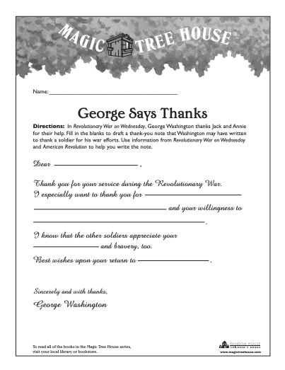george says thanks