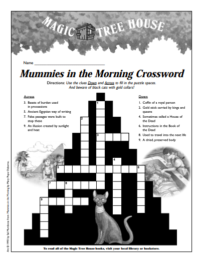 mummies_crossword
