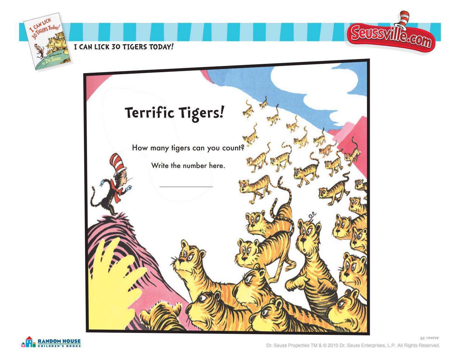 Terrific Tigers!