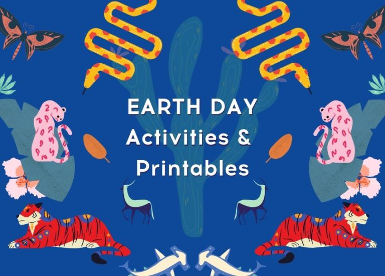 Earth Day Activities and Printables Thumbnail