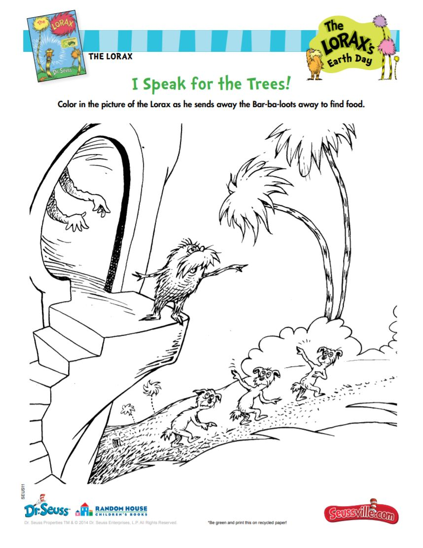 The Lorax's Earth Day