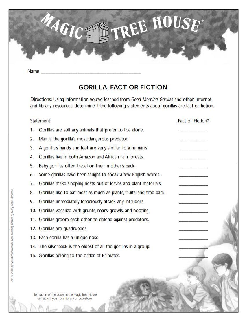 Gorilla: Fact or Fiction