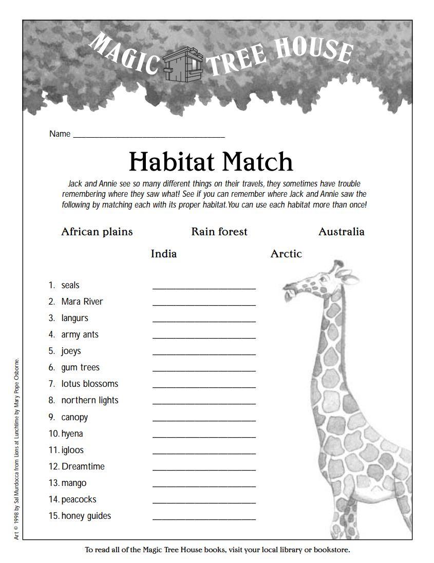 Habitat Match